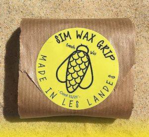 Eco waxer sa planche de surf - Wax Simwax écologique